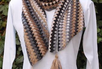 b5dd9da08bf8 Echarpe au crochet - Paperblog