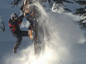 Snowmobile super slow motion with Phantom Miro LC320S