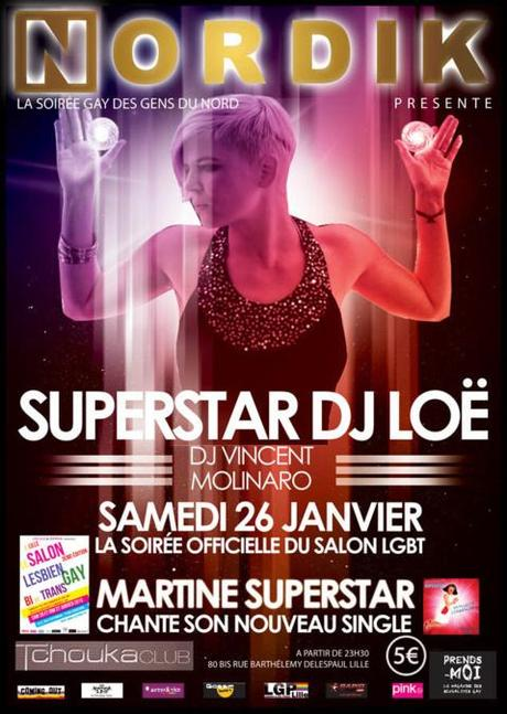 3e édition du salon LGBT de Lille ce week-end en présence d'OcéaneRoseMarie