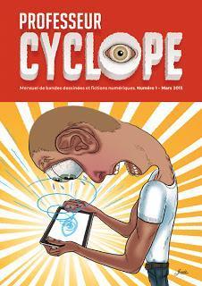 Professeur Cyclope : La couverture du numéro de démonstration © Tangui Jossic