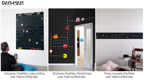 d co jeux vid o et stickers muraux geek piqure de rappel paperblog. Black Bedroom Furniture Sets. Home Design Ideas