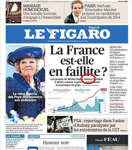 Faute d'orthographe Le Figaro