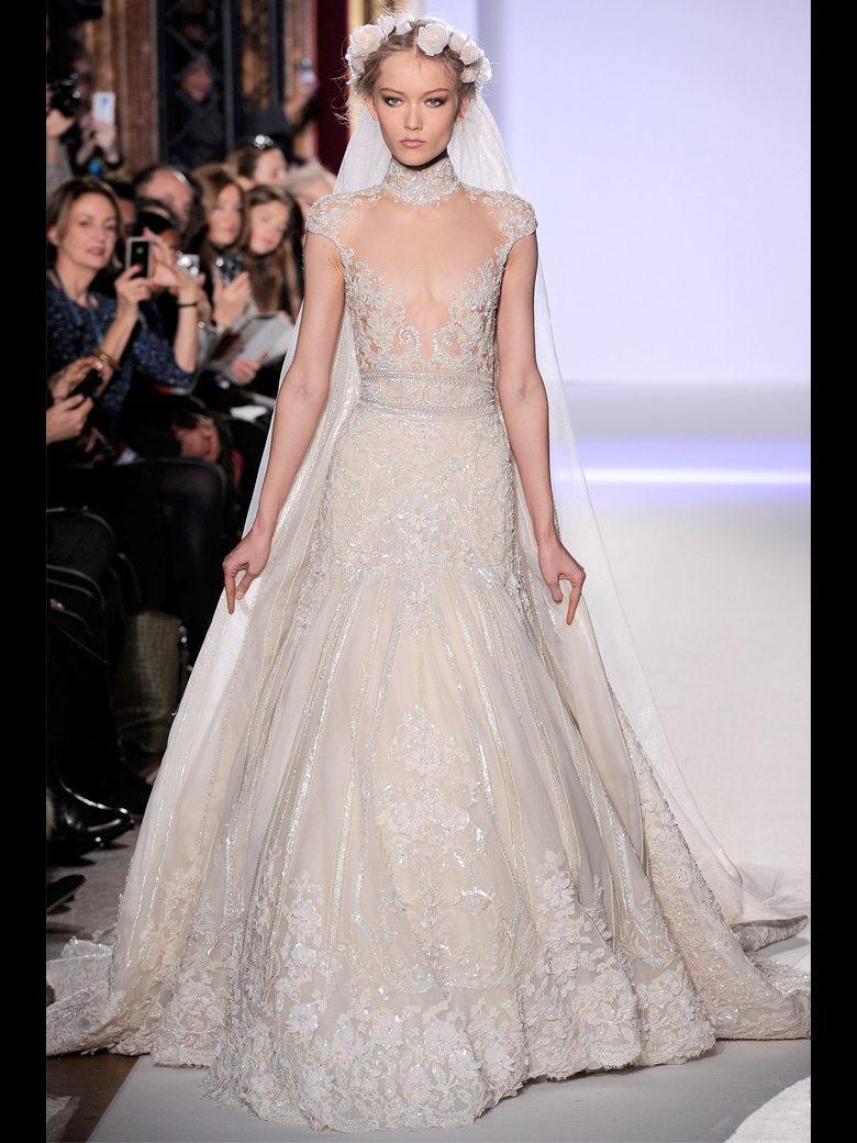 Extrêmement Découvrez les robes de mariée Haute Couture du Printemps Eté 2013  RA66