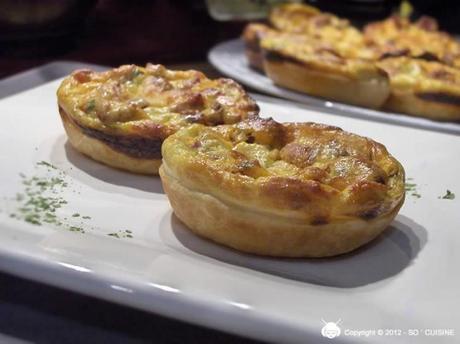Mini-quiches au Chorizo à la Brousse et aux Tomates Séchées