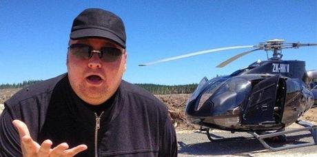 Kim Dotcom manque de se crasher en hélicoptère après un problème technique