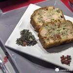 Cake au Thé de la Joie, Saumon, Mozzarella et Tomates Confites
