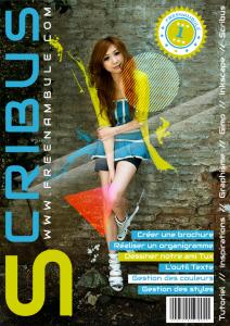 Scribus 06 : créer sa propre couverture de magazine