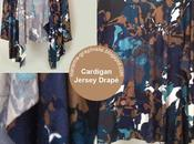 Cardigan Jersey Drapé