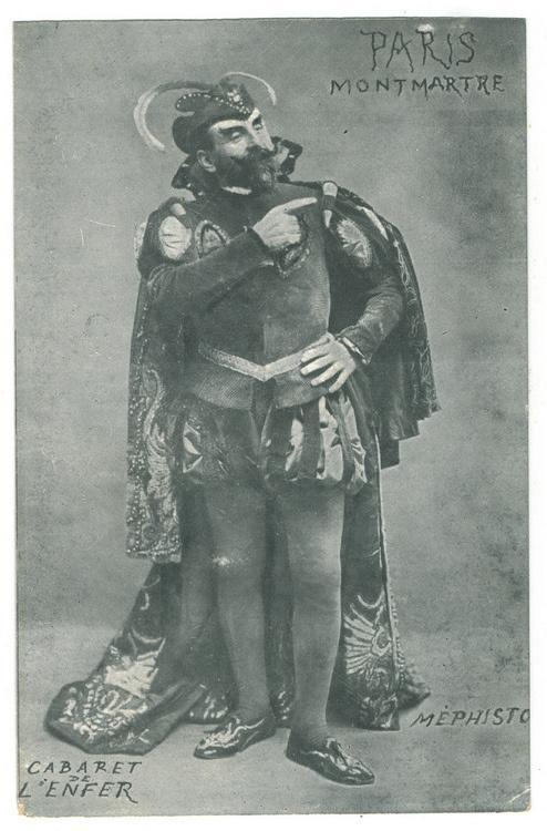 Acteur représentant Mephisto