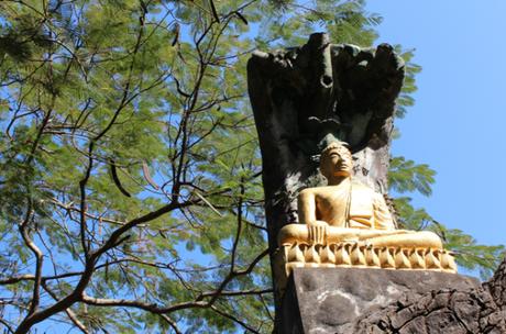 le mont des Bouddhas de Luang Prabang