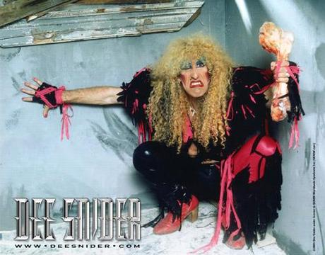Twisted sister glam rock
