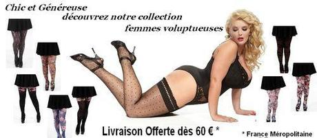Bannière collants XXL