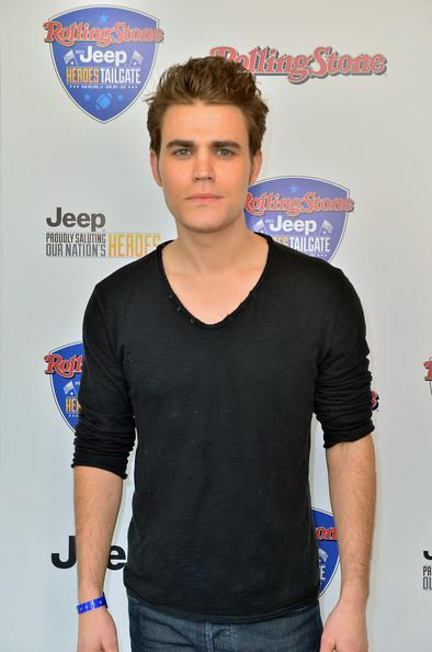 Paul Wesley - Rolling Stone Hosted Jeep Heroes Tailgate