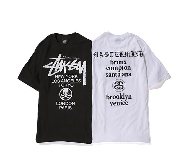 STUSSY X MASTERMIND – S/S 2013 CAPSULE COLLECTION