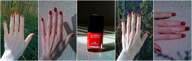 Lubie Vernis : Lotus Rouge - Collection permanente - Chanel