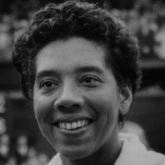 Althe Gibson, star afro-americaine du tennis et du golf