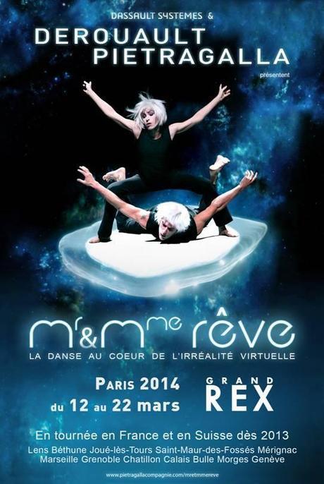 Mr & Mme Rêve avec Pietragalla au Grand Rex en 2014