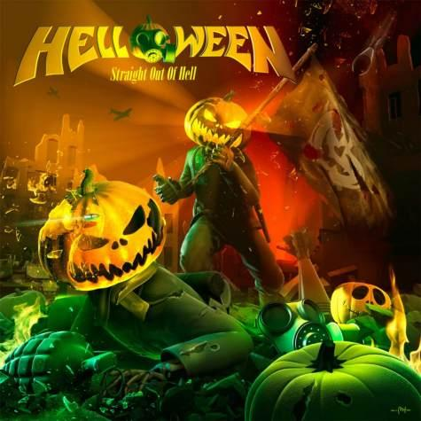 Helloween, Straight Out Of Hell (Columbia)