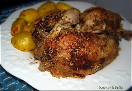 poulet dukkah
