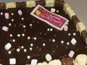 gâteau d'anniversaire oursons chocolat