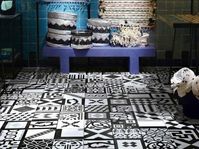 carreaux de ciment paperblog. Black Bedroom Furniture Sets. Home Design Ideas