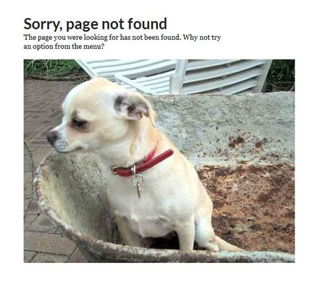 Le top 10 des pages 404 les plus originales #2