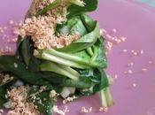 Salade mâche pailletée