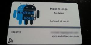 TEST La Carte De Visite Electronique NFC POPWINGS