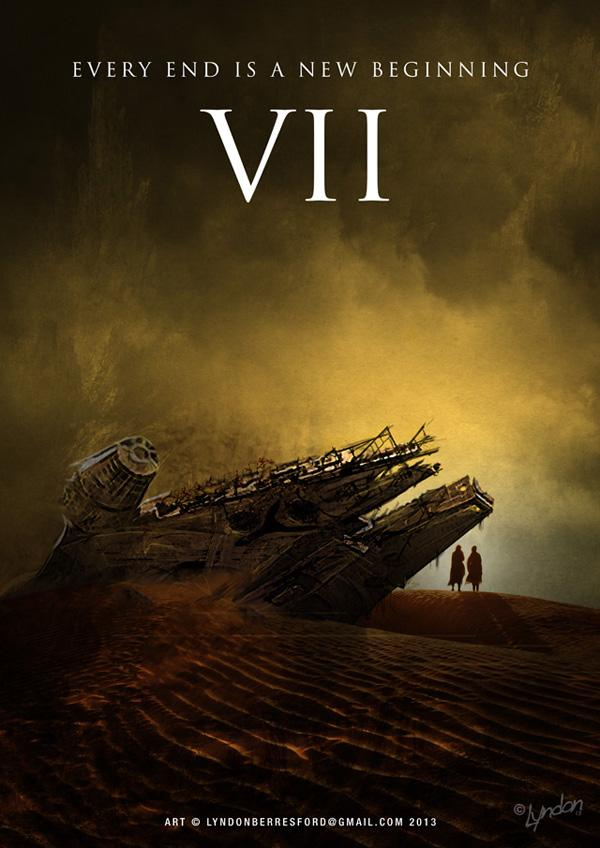 Star Wars Episode VII Fan Art Poster