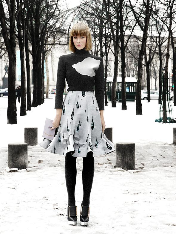Fashionweek Paris / Haute Couture: Dark White