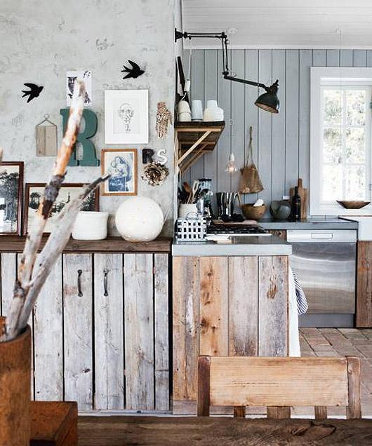 bois brut en cuisine paperblog. Black Bedroom Furniture Sets. Home Design Ideas