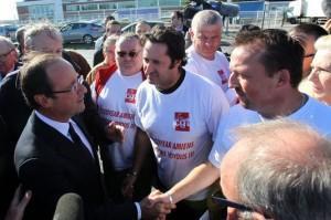 Hollande et les Goodyear Amiens, c'était avant