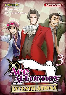 Manga: Ace Attorney Investigations Tome 3