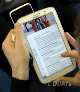Samsung, Galaxy note 8 pouces séance de Shooting