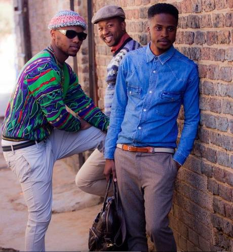 10 PHOTOS SIGNEES ALLEN COLEMAN : LA MODE DE LA RUE  (Ghana - Boys of Soweto)