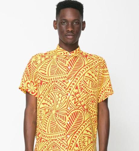 Allen Coleman - chemise imprimée American Apparel