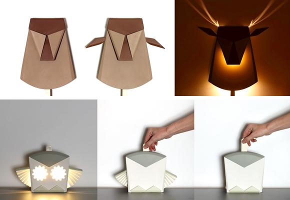 pop up lights by Chen Bikovski