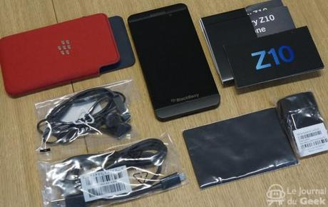 Test : BlackBerry Z10
