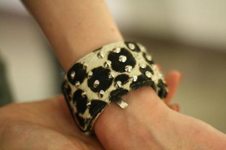 bracelet zebre clous kate lee
