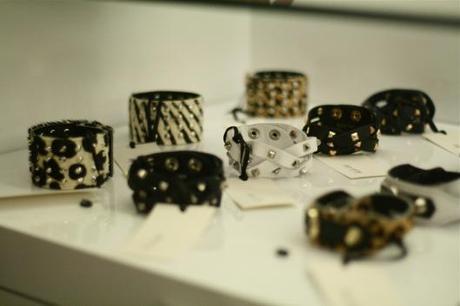bracelets cuir clous