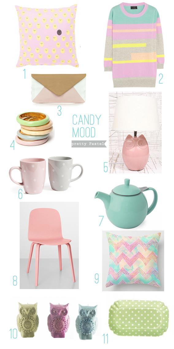 *Candy mood* inspiration déco PASTEL*