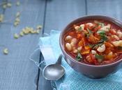 Soupe pâtes tomate gingembre