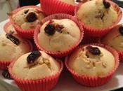 Recette n°47: Muffins cranberries nougatine.