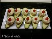 Avocat fourré salade crabe