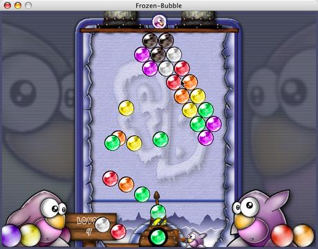 frozen bubble 15 Une sélection de jeux gratuit pour GNU/Linux