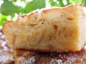 Gâteau pommes caramélisées
