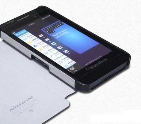 Un étui cuir Premium Nillkin pour le BlackBerry Z10