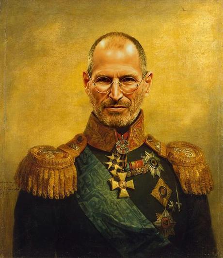 Steve Jobs, bruce Lee, JCVD en tenue de général de division...