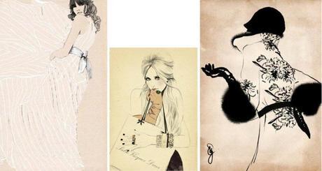 sandra suy illustratrice de mode