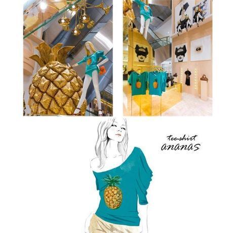 tee shirt ananas chloe, sandra suy 60 ans de chloe (1)